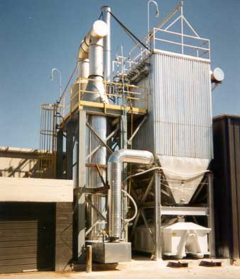 Thermal Oxidizer & Dry Scubber